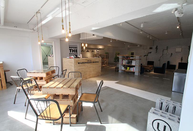 空間にマッチしたカフェ風インテリア