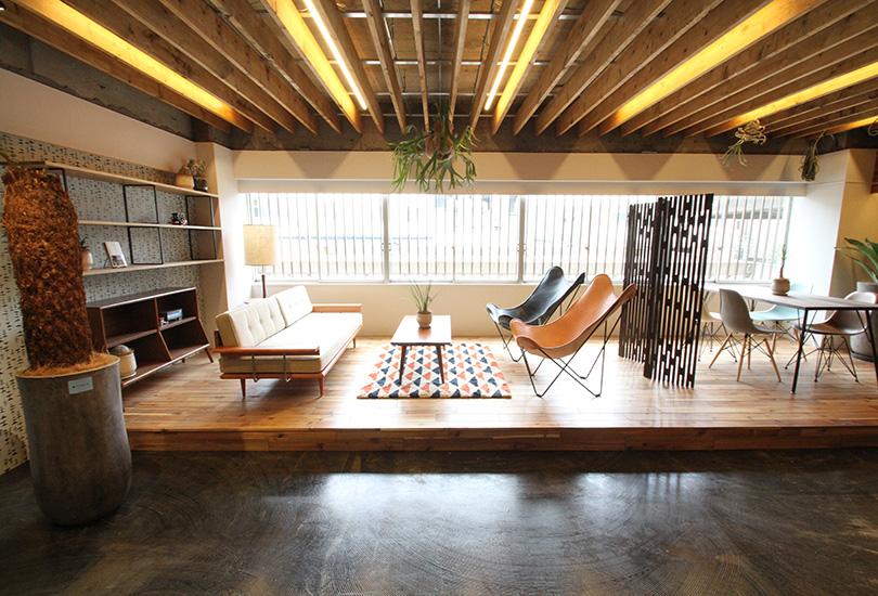 ウッドスペースは自然光が溢れます