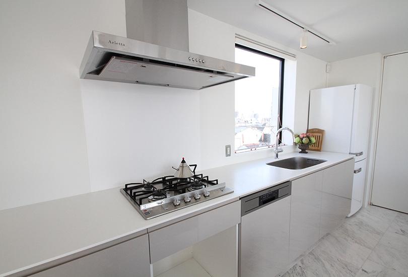 調理設備も充実したキッチンスタジオ