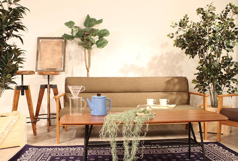 家具等の備品も充実で撮影利用に最適