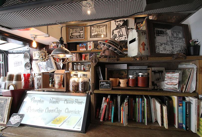 CAFE(カウンター)
