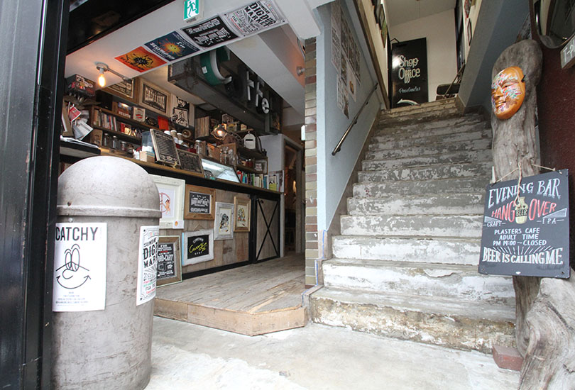 CAFE(エントランス)