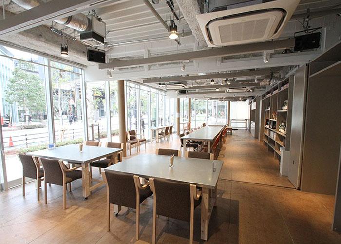 大崎のカフェです