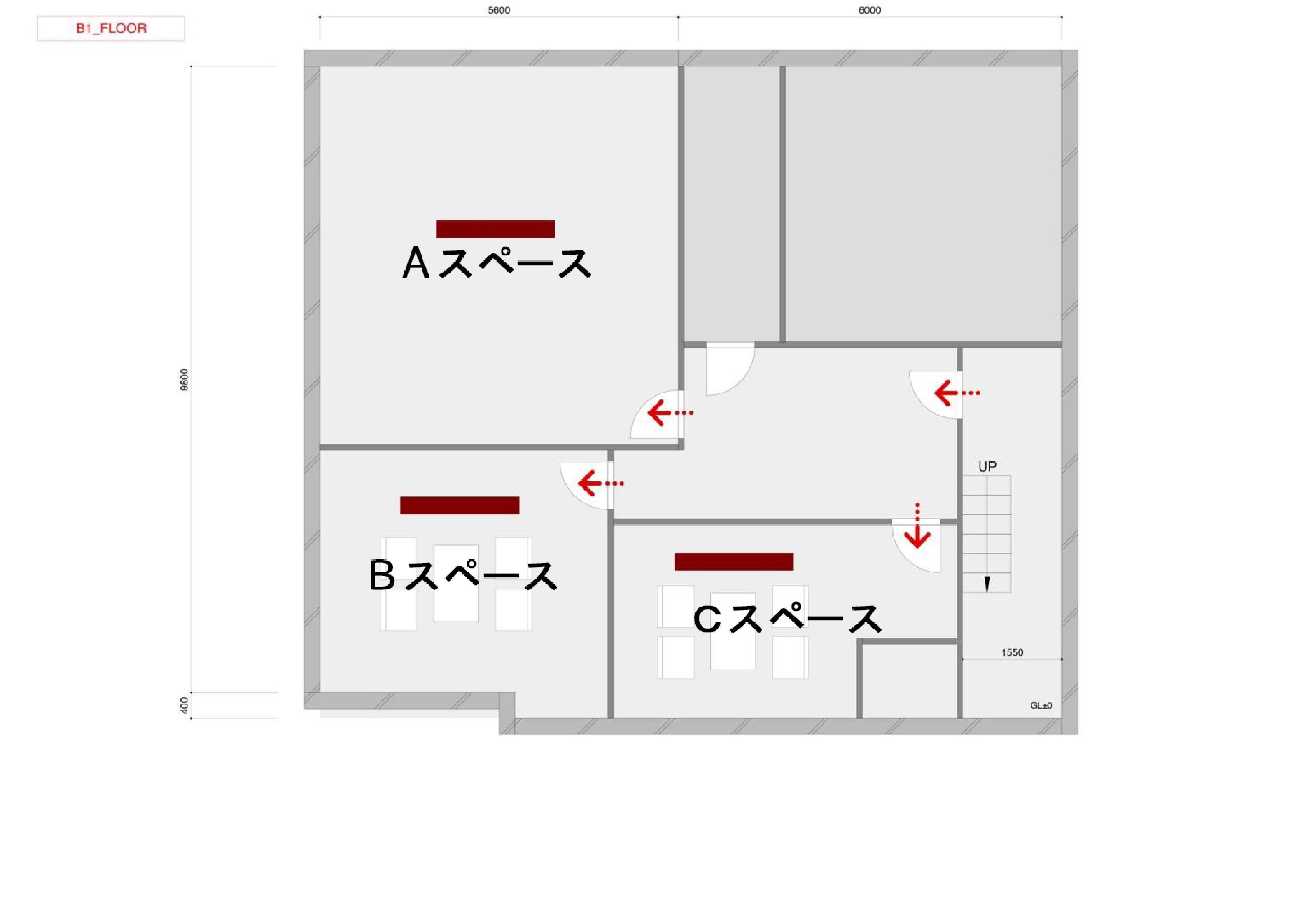 GOBLIN.代官山BLDG店 -KARAOKE-平面図
