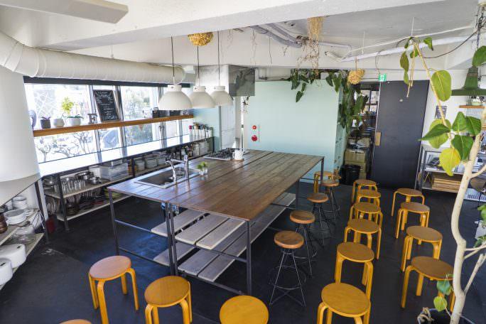 【食】の体験型イベントや、お手製料理パーティーにオススメのスペース