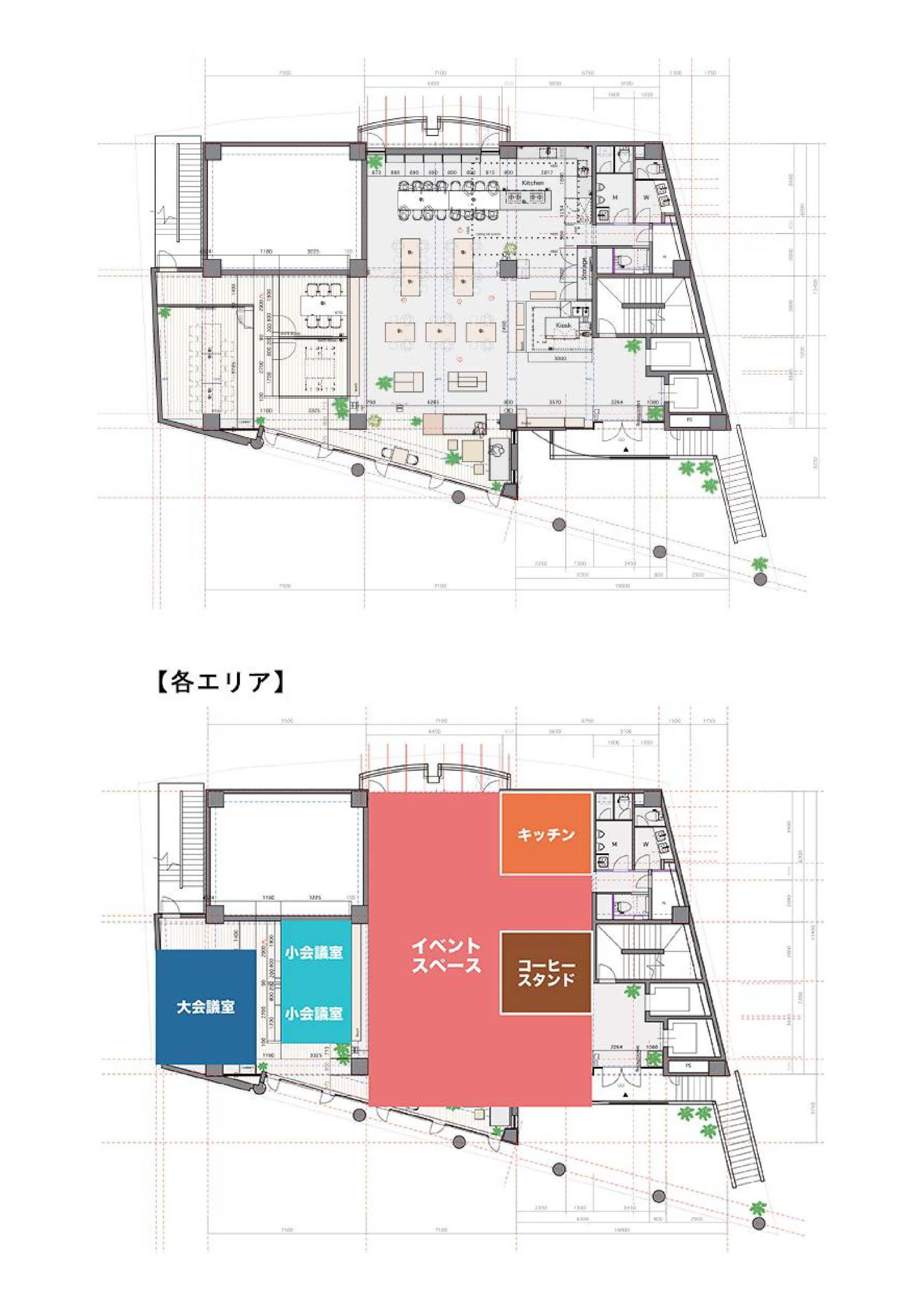 GOBLIN.池尻大橋HALL店平面図