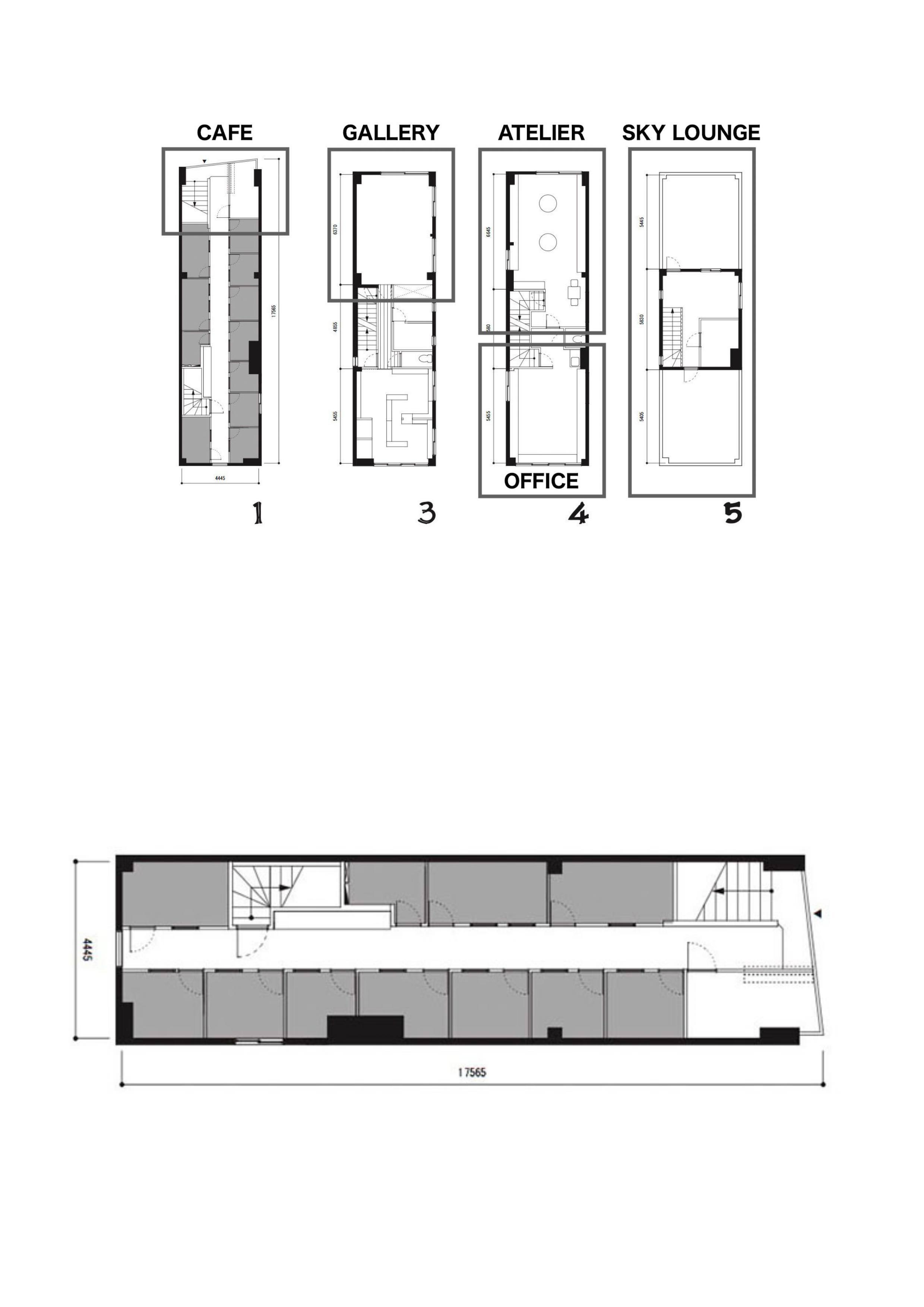 GOBLIN.下北沢BLDG店 -CAFE-平面図
