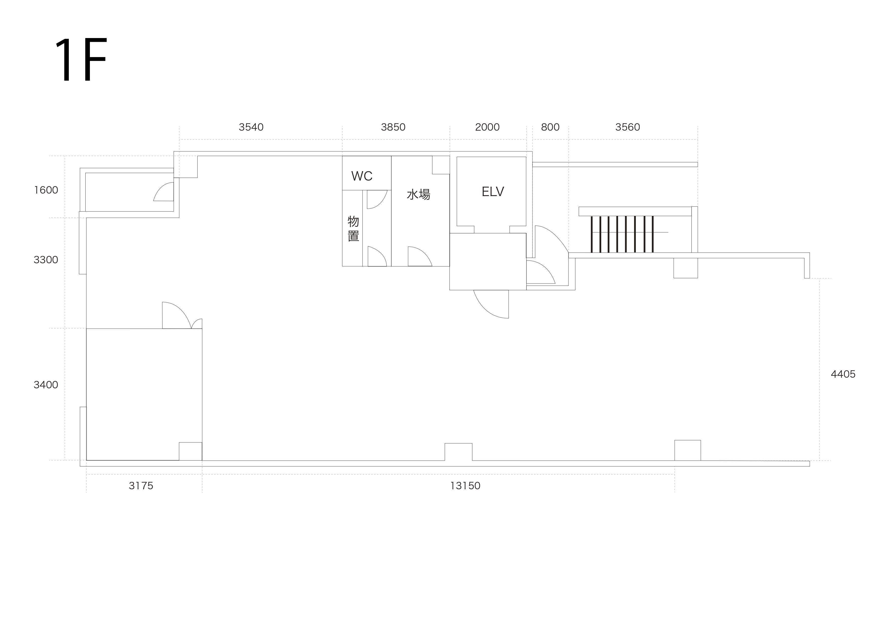 GOBLIN.築地GALLERY&CAFE店平面図