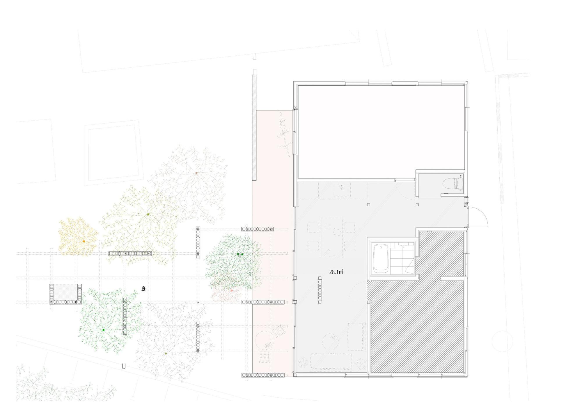GOBLIN.横浜HOUSE&GARDEN店平面図