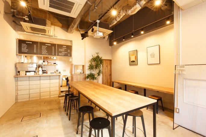カフェ型レンタルスペース&撮影スタジオ|GOBLIN.渋谷桜丘店-CAFE-