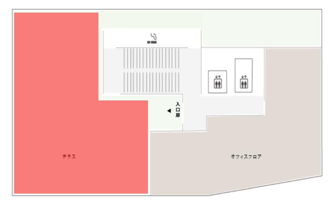 GOBLIN.品川ROOFTOP店平面図