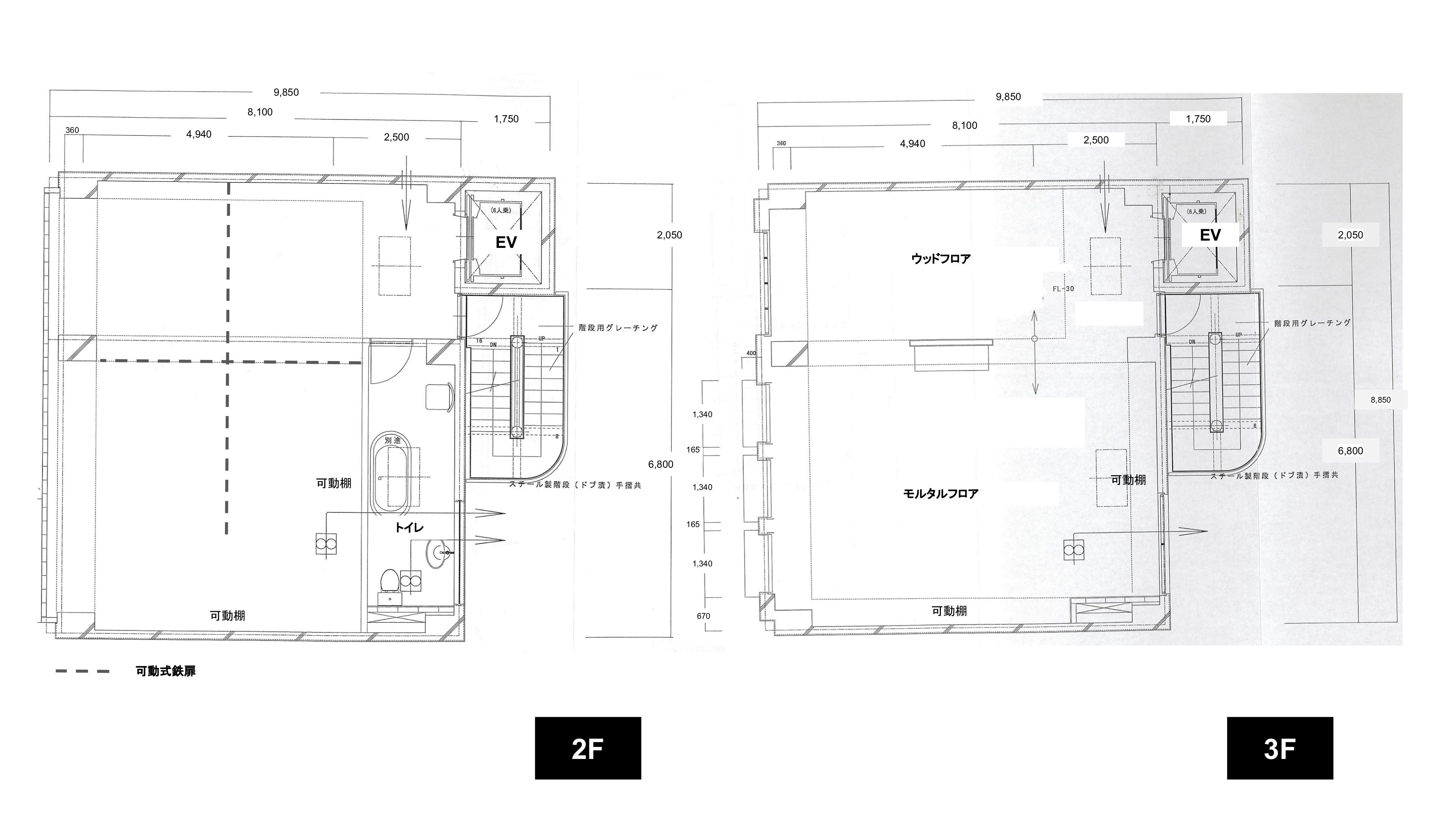 神宮前GALLERY店平面図