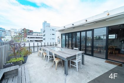 屋上レンタルスペース&撮影スタジオ|GOBLIN.神宮前ROOFTOP CAFE店