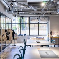 【事例】エプロンブランドDRESSSENのカフェ展示会|GOBLIN.中目黒