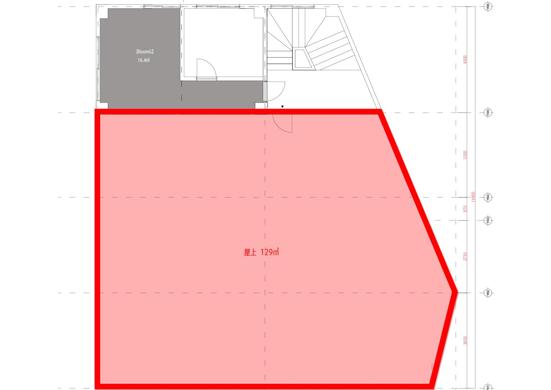横浜BLDG店 -ROOFTOP-平面図