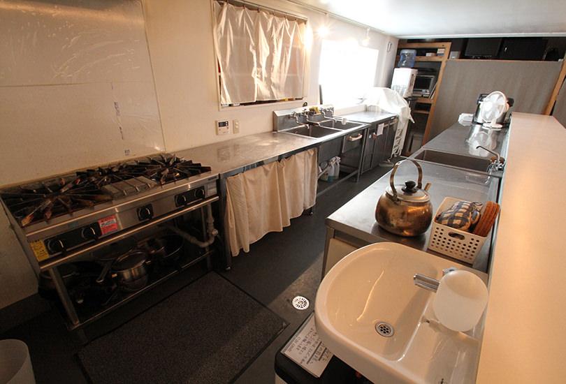 本格的な業務用キッチン