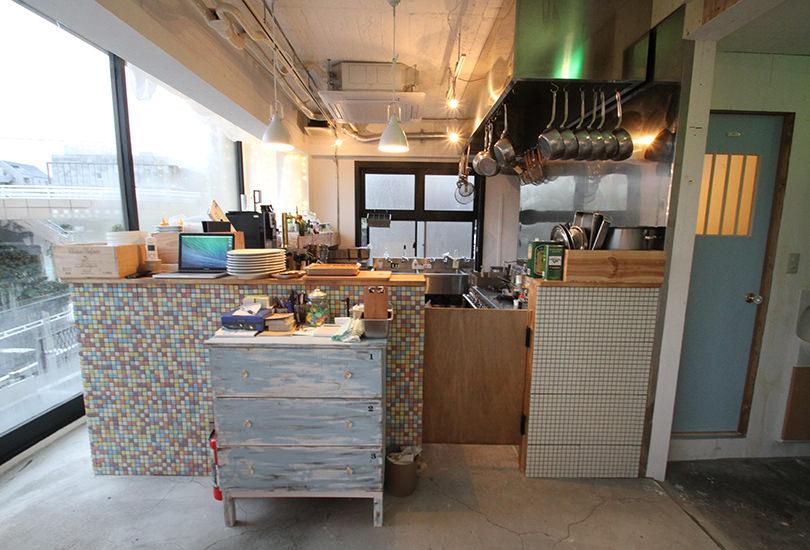 撮影可能なオープンキッチン